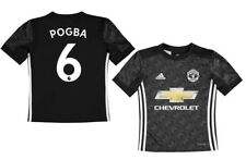 68ec2f4b2 Brand New Genuine Manchester United 2017 18 Away Shirt POGBA 6 - Junior  Sizes