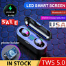 Bluetooth 5.0 Headset TWS Wireless Earphones Mini Earbuds Stereo Headphones USA#