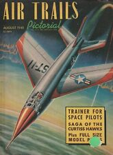 Air Trails (Aug 1948) (Space Pilots, Curtiss Hawks, Stimson Station Wagon)