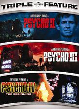 Psycho Ii/Psycho Iii/Psycho Iv: The Beginning (Dvd, 2007, 2-Disc Set,.