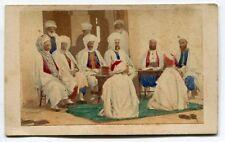 Cdv - Disderi - La Cour d'Alger - 1861 -