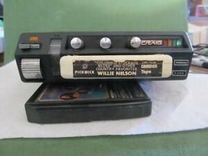 Plug in Craig 8 track car tape player with FM Stereo radio 3136  new belt