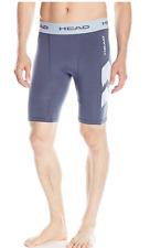 Head Stratus Men's Compression Short W/Mesh Insert Medium Nightshadow Blue
