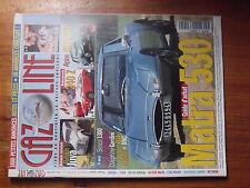 $$µ Revue Gazoline N°45 Matra 530  Renault Juva  Datsun 240 Z  Alpine A110 GT4