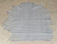 (Bce9423) Hide of Light Grey Printed Lambskin Leather Hide Skin