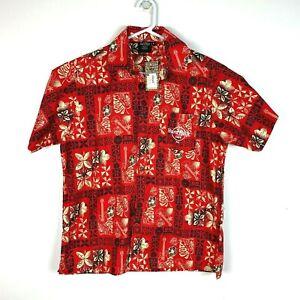 Fiji Hard Rock Cafe Genuine Hawaiian Shirt Size Men's Small BNWT