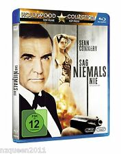 James Bond - Sag niemals nie [Blu-ray] Sean Connery, Kim Basinger * NEU & OVP *