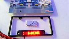 LED Message Scroll License Plate Frame - Great for advertising or personal