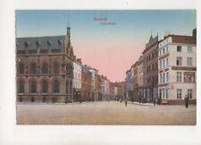 Kortrijk Leyestraat Belgium Vintage Postcard 356b