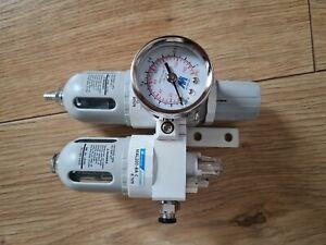 Mindman Air Regulator Lubricator  Gauge