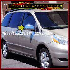 For TOYOTA Sienna 2004 2005 2006 2007 2008 2009 2010 Chrome FULL Mirror Covers