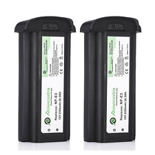 For Canon EOS 1D 1DS Mark II Battery NP-E3 NPE3 / 2350mAh 2 Pack Replacement