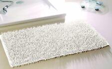 Gözze Shaggy Langflor-teppich In Metallic-optik Hochflor Ökotex weiß 70x120cm
