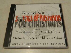 Darryl Cotton Songs Of Australia For Christmas CD