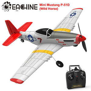 Eachine Mini Mustang P-51D 400mm Wingspan 2.4Ghz RTF RC Airplane Aircraft Plane