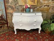 Antique French Louis Style Bombe Chest of Drawers-Commode-Storage-Rare