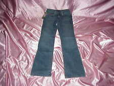 NWT Women's $59 NFL Tennessee TITANS cheerleader boot JEANS 4L 26/28  x  32.5