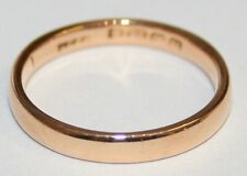 Vintage 22ct Gold Wedding Ring From The 1930's Finger Size L