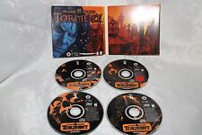 Planescape Torment Plane Scape PC Game Black Isle Studios AD&D 4 Disc 1999