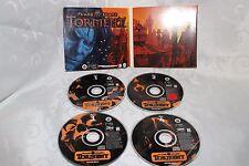 Planescape Torment Plane Scape PC Game Black Isle Studios AD&D 4 Disc 1999