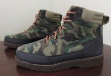 Polo Ralph Lauren Bearsted Leather Suede Camo Army Pony Boots Hunting Shoes 15