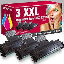 3 Kartuschen für Samsung SCX 4521 FR SCX-4521D3