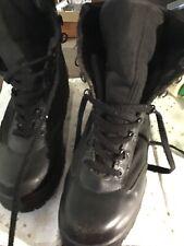 Corcoran Mach 1955 Miltary Tactical Black Leather Mesh Men,s 8 1/2 Medium