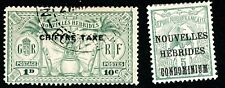 NEW HEBRIDES – FRENCH 1910 SCOTT 6 & 1925 J1 POSTAGE & POSTAGE DUE STAMPS