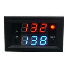 12V T2302 Timing Delay Relay Module Cycle Timer Digital LED Dual Display (Black)
