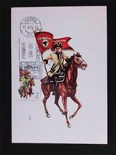 SPAIN MK 1974 SOLDAT REITER PFERD HORSE SOLDIER CARTE MAXIMUM CARD MC c5412