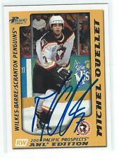 Michel Ouellet Signed 2003/04 Pacific Prospects AHL Card #96