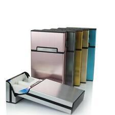 Cigarette Case Ultra Thin Fashion Pipe Box Slim Metal Aluminum Cigarette Holder