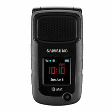 Samsung Rugby II SGH-A847 - Black GSM AT&T CAMERA FLIP Cellular Phone NO BOX