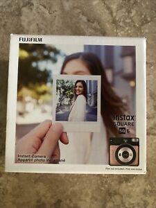 Fujifilm Instax Square SQ6 Instant Film Camera - Blush Gold (16581460) - NEW