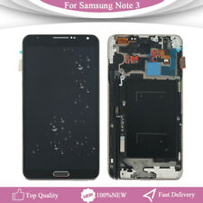 For Samsung Galaxy Note 3 N9005 LCD Replacement Screen Touch Display+Frame Black