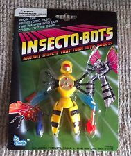 "VINTAGE INSECTO-BOTS BEE  4"" TRANSFORMER KO ACTION FIGURE INSECTS ROBOTS MOC"