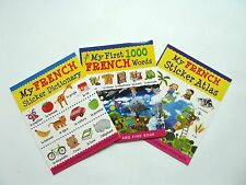 New French Language Set/Collection Dictionary,1000 words,Atlas Kids Age 5+ KS1,2