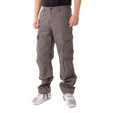 Carhartt Regular Pantalones Estilo Cargo hombre pantalón Aviación Gris 15824
