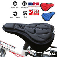 3D Bicycle Saddle Breathable Bike Seat Cover Comfortable Foam Cushion Cycling US