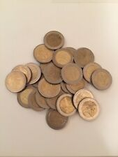 50 € - 2 coins large euro coin lot currency circulated travel cash 1 5 10 20 50