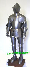 Medieval Collectible Wearable Suit Of Armor With Base
