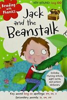 Reading with Phonics Jack and the Beanstalk By Clare Fennell