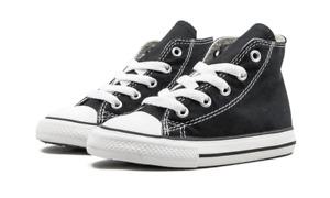 Converse All Star Chuck HI 7J231 Canvas Black Kids/Toddler Shoes