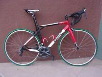 BMC SL01 Carbon Fiber Road Bicycle 10S Ultegra 54CM