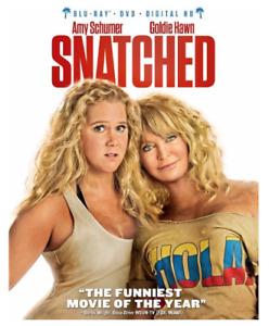 Snatched (Blu-Ray, DVD, Digital) Brand New