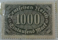 Germany 1922-23 Stamp 1000 Mark MNH Stamp Rare Antique Excellent StampBook1-127