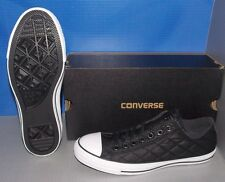 """CONVERSE """"CHUCK TAYLOR"""" CT OX in colors BLACK / BLACK MENS 8.5 WOMENS 10.5"""
