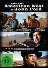 The Great American West Of John Ford  John Wayne  James Stewart DVD NEU OVP
