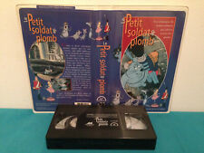 The tin soldier / Le petit soldat de plomb VHS tape & clamshell case FRENCH