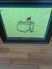 2014 Masters Flag Seminole Hard Rock Casino Framed